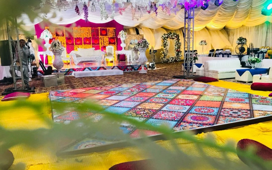 Wedding Organize by ThemeEvent | Misba Ul Haq Palace